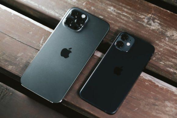 iPhone 12 Pro MaxとiPhone 12 miniの画像