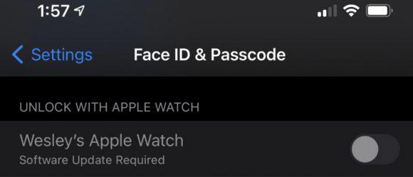 Face ID iOS14.5