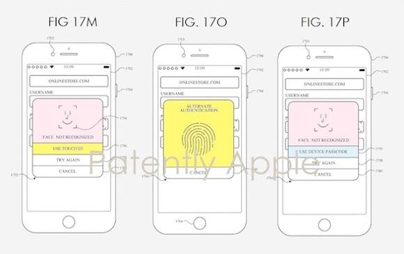Apple Biometrics patent_2