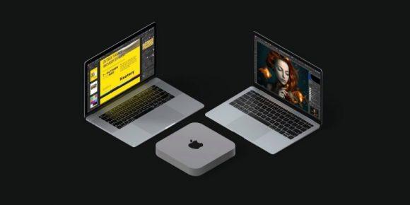 Apple Siliconを搭載したMacの画像