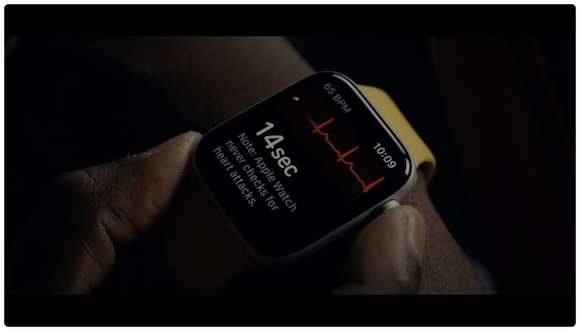 Apple Watch Series 6 心電図