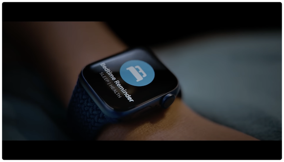 Apple Watch Series 6 睡眠
