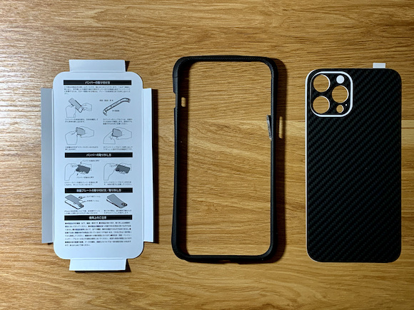 Deff CLEAVE G10 Bumper for iPhone12 Pro Max レビュー
