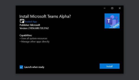 MS Teams alpha_1