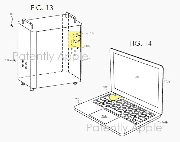 apple cooling fan patent 3