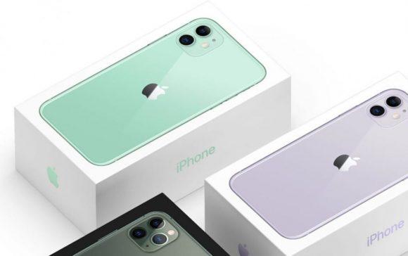 iPhone11のパッケージの画像
