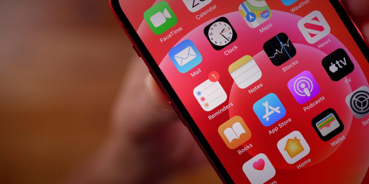 iPhone 12の画面の画像
