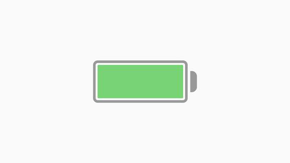 iPhone バッテリー アイコン