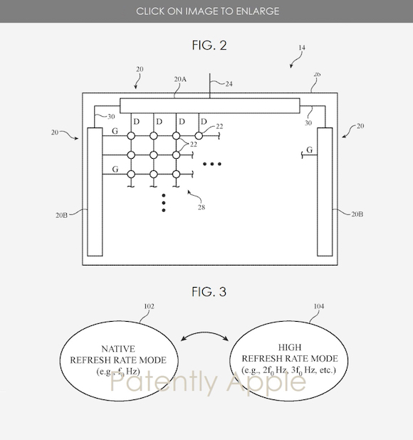 refresh rate patent