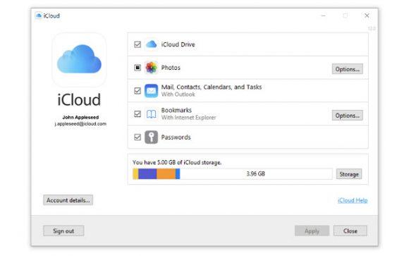 iCloud拡張機能