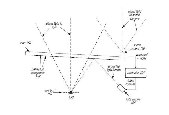 Apple glasses patent 202103