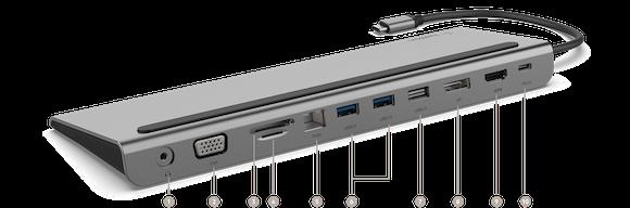 Belkin USB-C dock 6