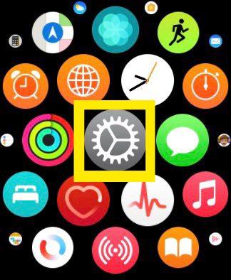 Tips Apple Watch 設定アプリ