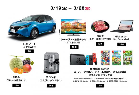 PayPayくじ 特選賞2