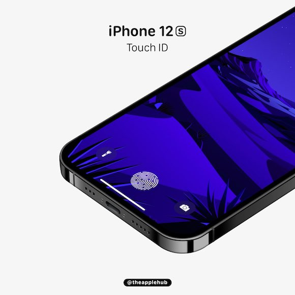iPhone12s touch id