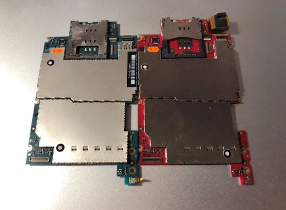 iPhone3GS EVT logicboard
