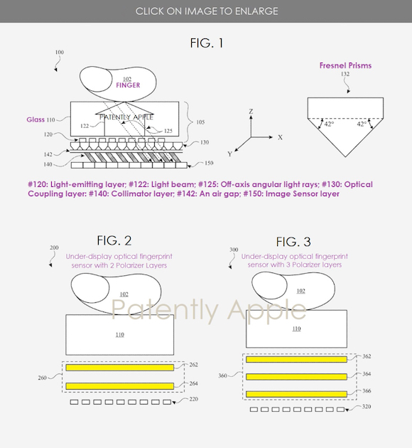 off axial finger print patent_3