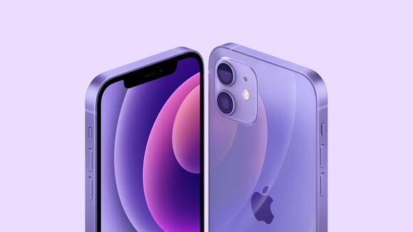 iPhone12 Purple