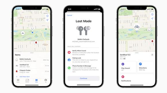 Apple 「探す」ネットワーク