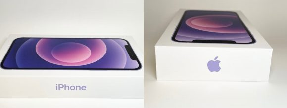 iPhone12 パープル レビュー