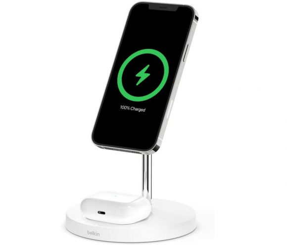 BOOST↑CHARGE PRO MagSafe 2-in-1磁気ワイヤレス充電スタンド