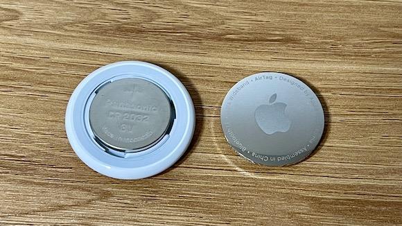 AirTag 電池交換