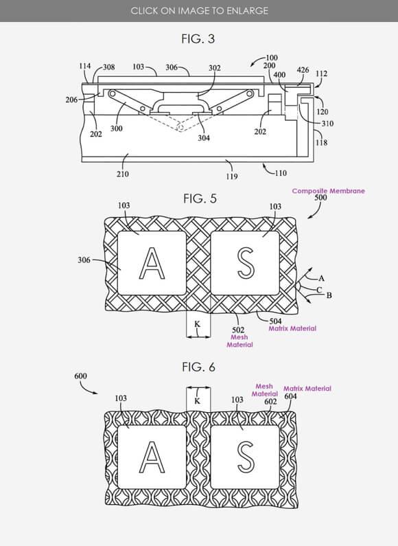 magic keyboard 特許