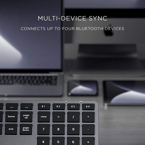 スリム X3 テンキー付き Bluetooth バックライトキーボード-3