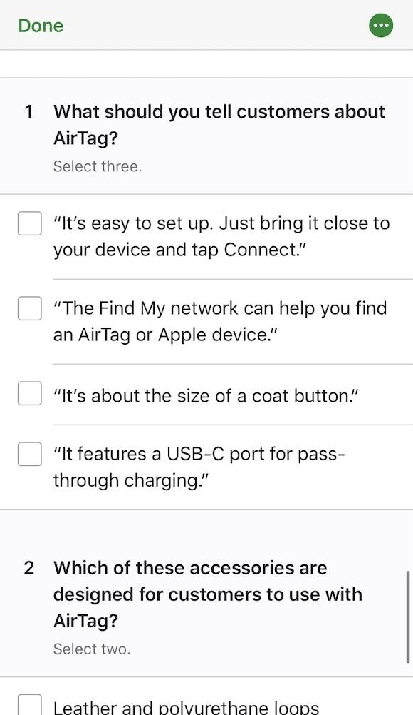 Apple SEED 販売担当者トレーニング