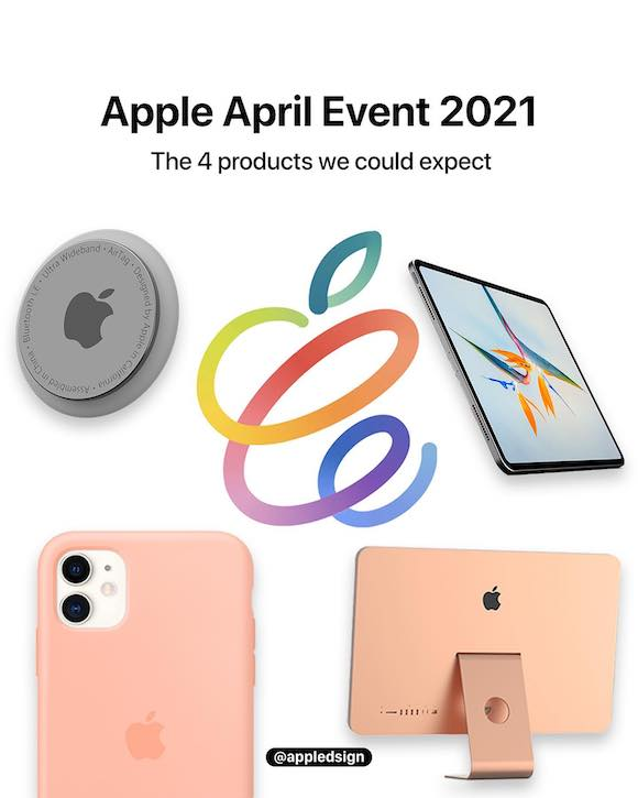 Apple April Event products