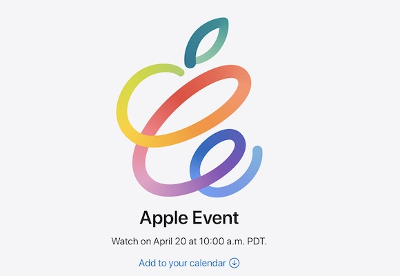 AppleEvent 2021年4月20日