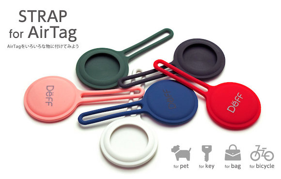 Deff 「STRAP for AirTag」