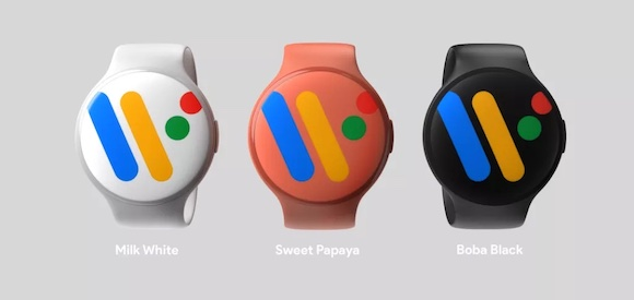 Google Pixel Watchのリーク画像〜ラウンドケースを採用か
