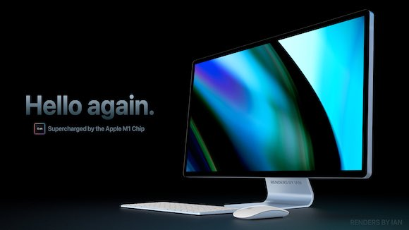 New iMac 2021 Ian