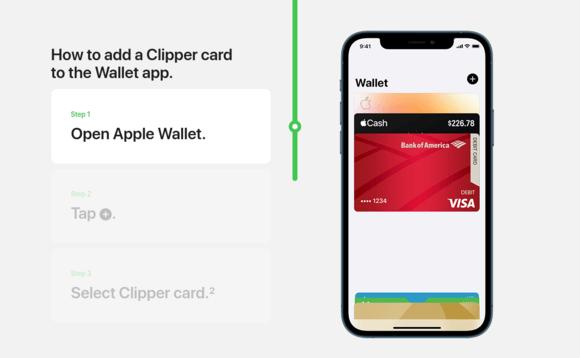 apple pay clipper card