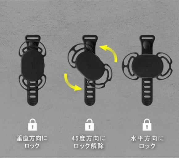 「Bone Bike Tie Connect Kit」と「Bone Run Tie Connect」-着脱方法