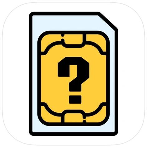 S I M . H E L P-iOSアプリ
