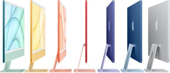 【速報】超薄型M1搭載iMacが登場!7色から選択可能