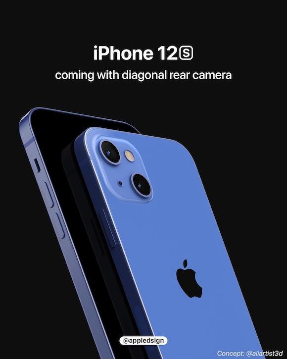 iPhone12s rear camera AD