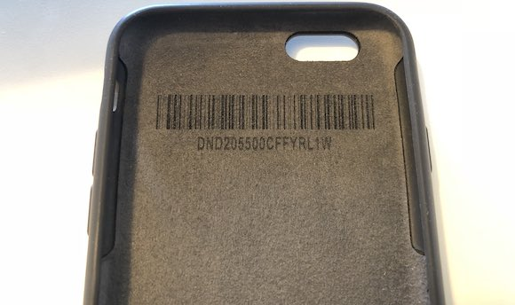 iPhone6 Smart battery proto