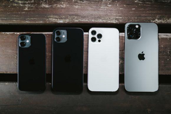 iPhone12シリーズの画像