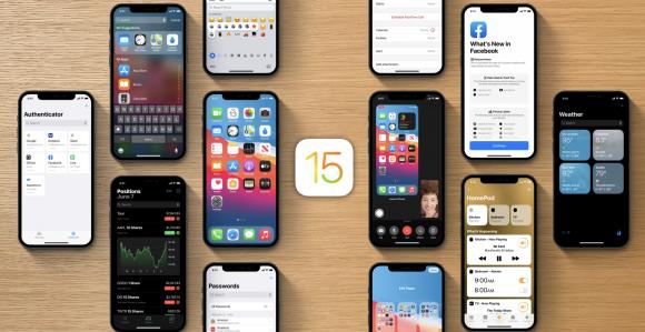 iOS15 コンセプト