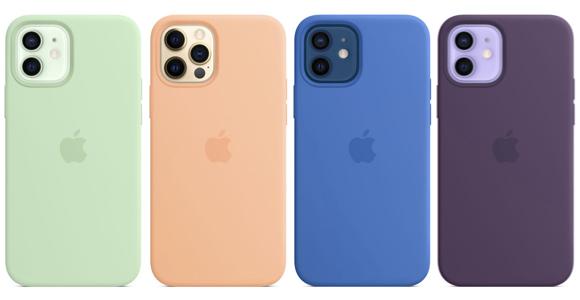 iPhone12シリーズ シリコーンケース新色 レビュー