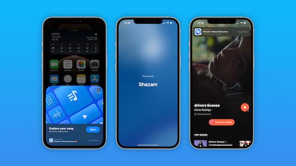iOS14.6RC Shazam App Clip 9to5Mac
