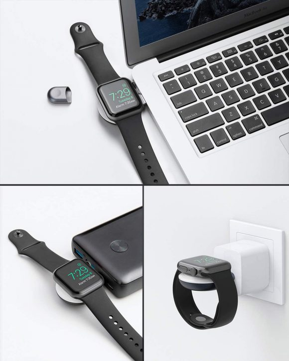 Anker Portable Magnetic Charger for Apple Watch-2