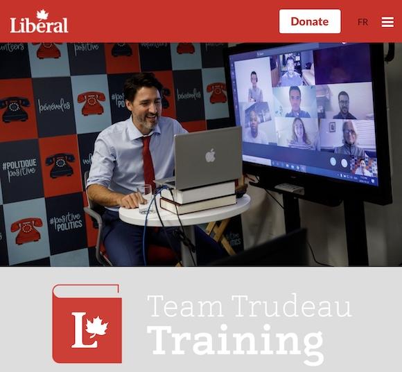 ジャスティン・トレドー首相 カナダ自由党