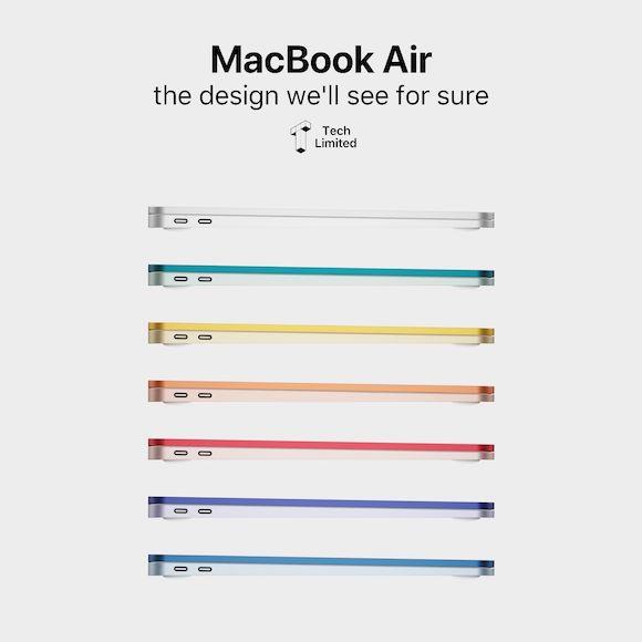 New MacBook Air concept TL