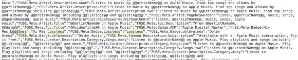 Apple Music ロスレス
