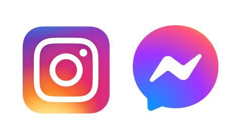 Messenger Instagram logo