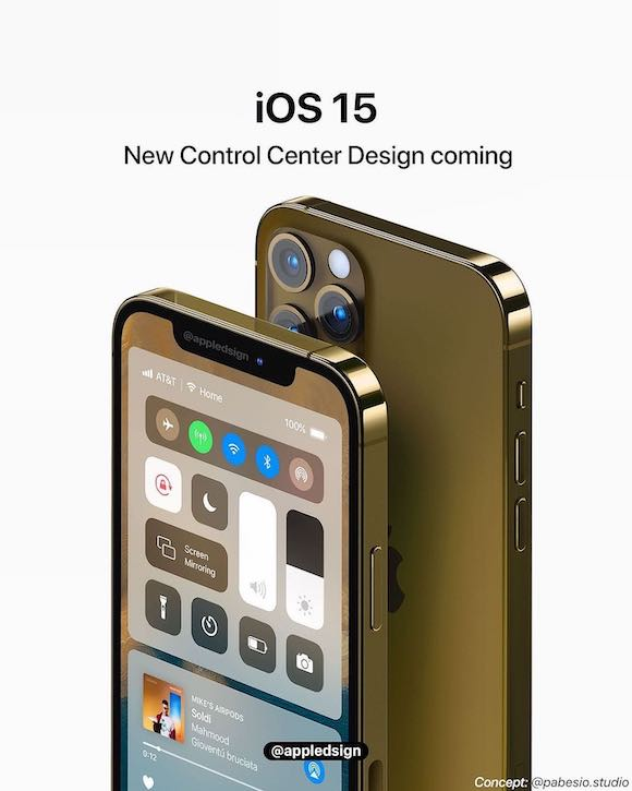 iOS15 concept AH 0515